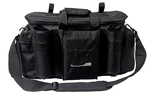 Armeeverkauf Polizei Einsatztasche Tasche mit Schulterriemen und Fächern schwarz Security bag Sicherheitsdienst …