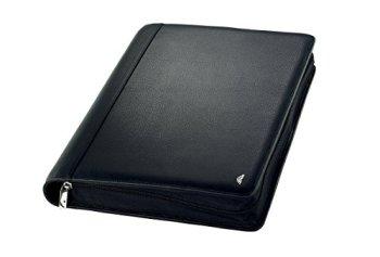 Chronoplan Compact Personal Organiser (English Language not Guaranteed) Mobile (Zip Fastening) a4 Black