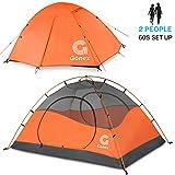 Gonex Tente de Camping 2 Personnes 3 Saisons Dôme Classique Imperméable...