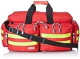 GIMA ref 27153 Bolsa'Smart' para emergencias sanitarias, poliéster, 65 x 35 x 35cm, talla grande, roja, maleta primeros auxilios con compartimientos internos y externos, resistente al agua