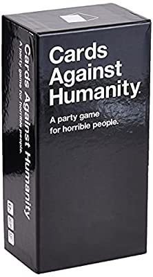 Cards Against Humanity is a party game for horrible people. This is the main game. Buy this first. Contains 500 white cards and 100 black cards for maximum replayability. Includes a booklet of sensible game rules and preposterous alternate rules. Ame...
