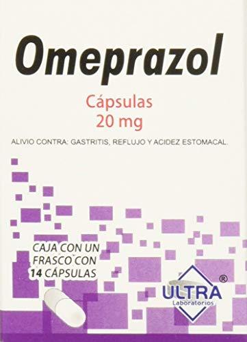 Omeoprazol Expectorantes, Caja de 14