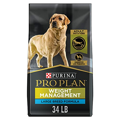 Purina Pro Plan Low Fat Large Breed Weight Management Dry Dog Food, FOCUS Weight Management Large Breed Formula - 34 lb. Bag
