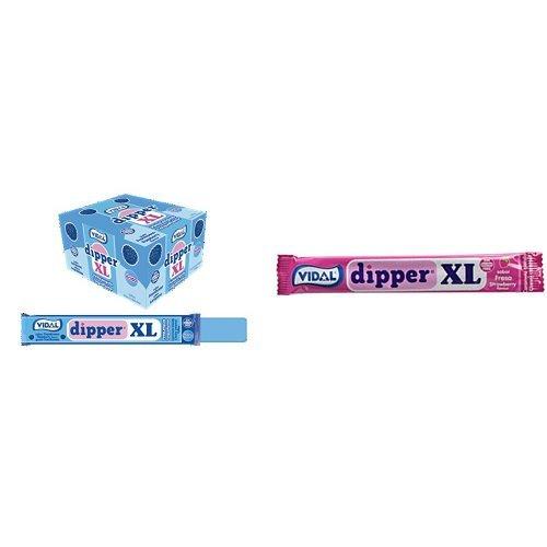 Vidal Dipper XL Caramelo Masticable Sin Gluten Frambuesa y F