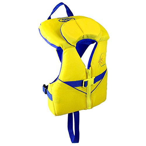 Stohlquist Child PFD 30-50 lbs, Yellow/Blue