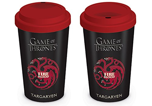 Game Of Thrones Pyramid International - Taza Oficial de café y té de cerámica en Caja, 340 ML, cerámica, 8x11.5x9.5 cm