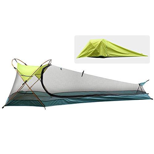 Rhino Valley Tente de Camping d'une Personne,Tente Extérieure Instantanée...