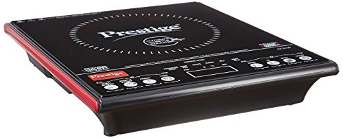 Content: Prestige induction cooktop-Pic 3.1 V3 Net quantity: 1 unit Voltage: 230V; Wattage: 2000W, Automatic voltage regulator Warranty: 1 year Troubleshooting guidelines: Works only with induction base cookware - bottom diameter between 12cm-26cm Po...