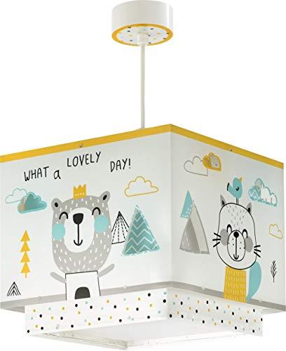Dalber lampe suspension enfant Hello Little Animaux