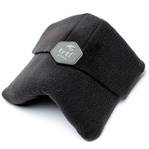 trtl Pillow - Almohada de Viaje con Soporte para el Cuello Probada científicamente. para Lavar a máquina - Negro
