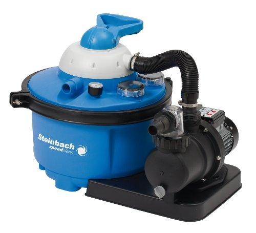Zandfilter | Doorstroomsnelheid 6600 l/u | Volume zandtank 15 kg | 7-Wegventiel