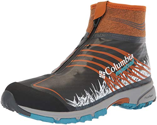 Columbia Men's Mountain Masochist IV Outdry XTRM Winter Hiking Shoe, Graphite, Bright Copper, 9 Regular US