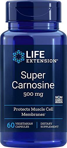 Life Extension Super Carnosine 500mg, 60 Vegetarian Capsules