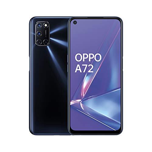 Oppo A72 - Smartphone 128GB, 4GB RAM, Dual Sim, Twilight Black