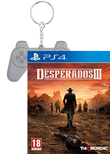 Desperados 3 [uncut Edition] (Deutsch) + Schlüsselanhänger PSX Retro