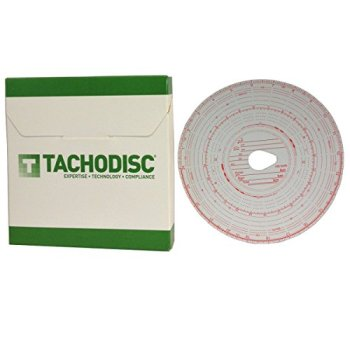 1 x Box (100) Tacho chart cards for trucks- Tachograph charts T1/T2 (125KM/H)