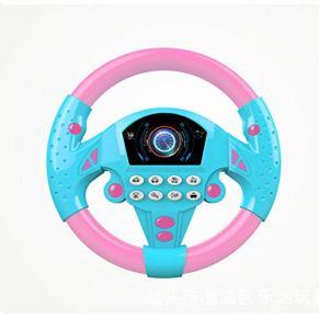 Katurn Controlador de conducción simulado Volante de conducción simulado portátil Copiloto de Juguete Juguete Educativo…