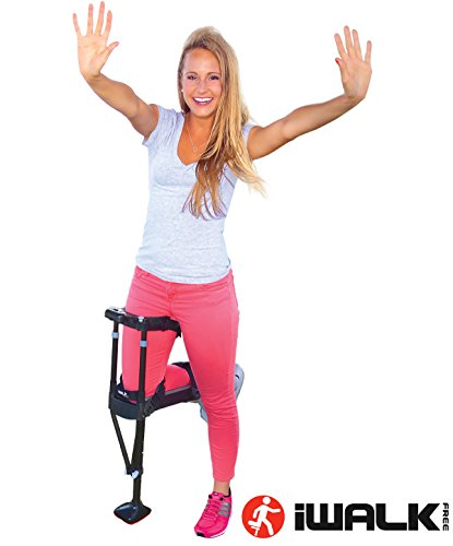 iWALK2.0 Hands Free Knee Crutch - Alternative for Crutches and Knee Scooters - by iWALKFree