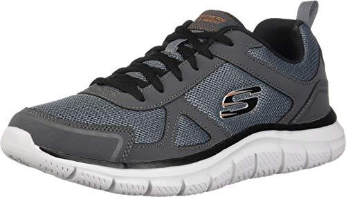 Skechers 52631-ccbk_44, Calzado Deportivo Hombre, Gris, EU