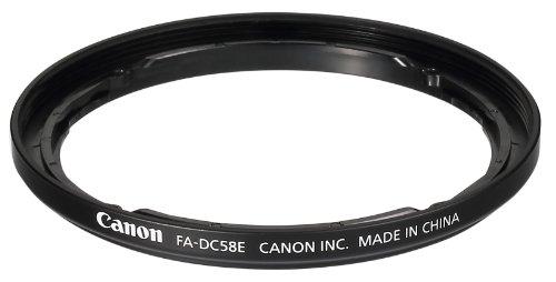 Canon フィルターアダプター FA-DC58E