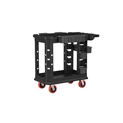 Suncast Commercial PUCHD1937 Heavy Duty Utility Cart - 19 Inch x 37 Inch -...