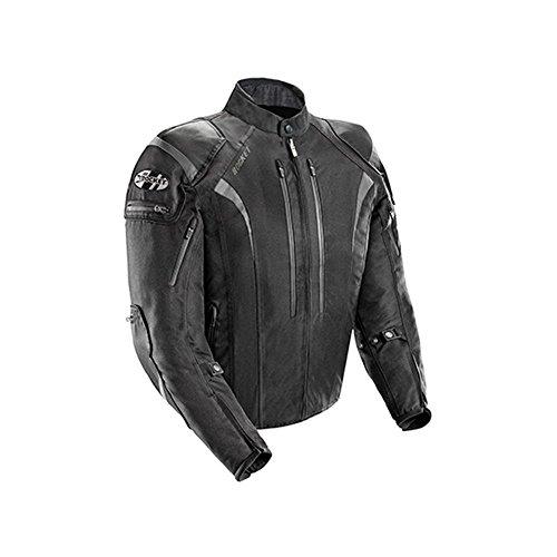 Joe Rocket Atomic Men's 5.0 Textile Motorcycle Jacket (Black, 5X-Large)