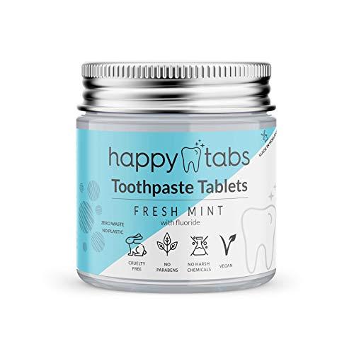 Happy Tabs - pastillas de pasta de dientes - pasta de dientes...