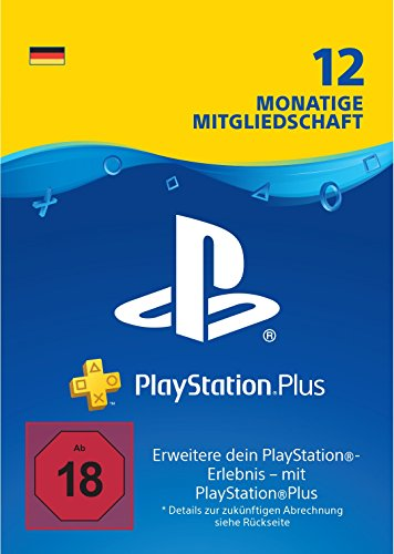 PlayStation Plus Mitgliedschaft | 12 Monate | deutsches Konto | PS5/PS4/PS3 Download Code