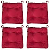 sleepling 190201 Lot de 4 Coussins de Chaise I d'assise Confortable, Tailles: 40...