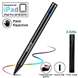 MECO Stylus Pen for iPad, Active Stylus with Palm Rejection Capacitive Stylus Rechargeable Active Pencil Compatible with Apple iPad 6th 7th Gen/iPad Pro 3rd Gen/iPad Mini 5th Gen/iPad Air 3rd Gen