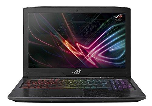 """ASUS ROG Strix Scar Edition GL703GE Gaming Laptop, 17.3"""" i7-8750H Processor, GTX 1050 Ti 4GB, 16GB DDR4, 256GB SSD + 1TB HDD, Windows 10 Home, GL703GE-AS74 (Renewed)"""