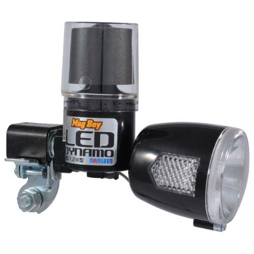 丸善(MARUZEN) Mag Boy [MLC-1-BK2] LED 発電 ランプブラック