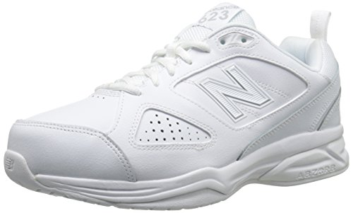 New Balance Men's 623 V3 Casual Comfort Cross Trainer, White, 10.5 M US