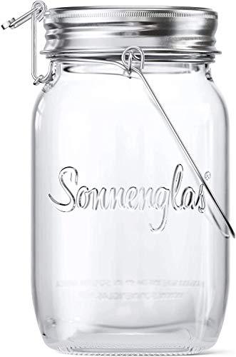【公式】(ソネングラス) SONNENGLAS® 1000ml Classic ビン型 ソーラーライト | メイソンジャー ソーラー 太...
