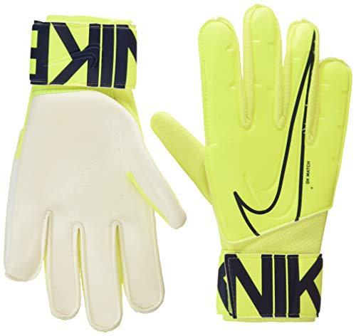 Nike Nk GK Match-Fa19, Guanti da Calcio Unisex Adulto, Volt/Obsidian, 10