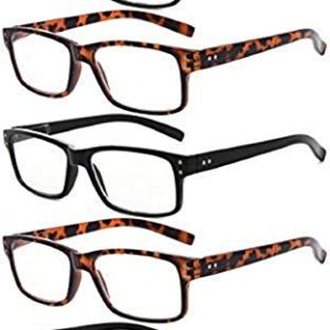 Eyekepper Mens Vintage Reading Glasses-5 Pack Include Reading Sunglasses for Men Outdoor ReadingReader Eyeglasses Women
