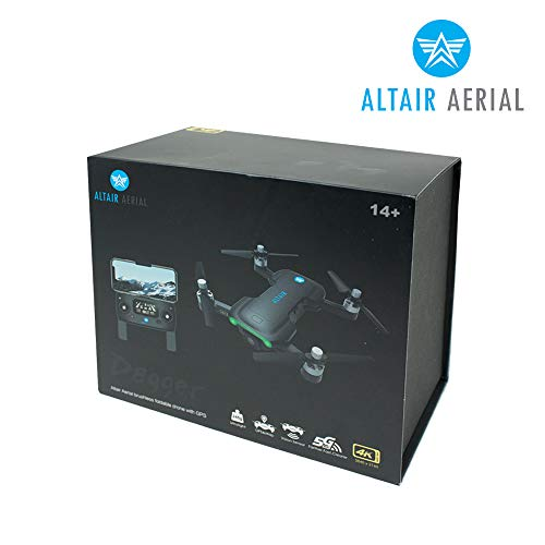 Product Image 4: Altair Aerial Dagger Foldable GPS Drone with 4K UHD Camera for Adults, 5G Compatible, Brushless Motors, Optical Flow Stabilization System, Auto Return, Weighs Less than 0.55 lbs (Lincoln, NE Company)