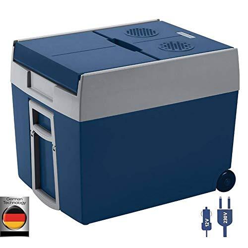 Mobicool W48 AC/DC - elektrische Kühlbox mit Rollen passend für eine komplette...