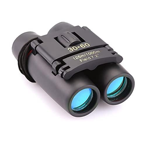 LYYDAN Binocolo con visione notturna, 30 60 HD, piccolo, compatto, impermeabile, con prisma Bak4 e rivestimento FMC per osservazione degli uccelli, viaggi, partite di calcio