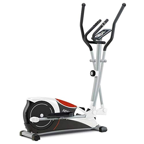 BH Fitness ATHLON Elliptique Cross Trainer Unisex-Adult, weiß-Schwarz-Grau, Unica