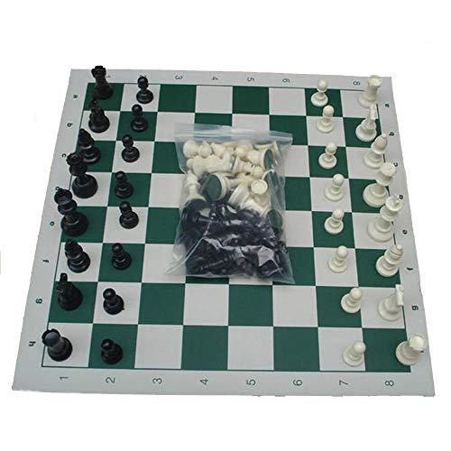 JINGBA AAA Plastica Resina Internazionale Chess Set con la Scacchiera King High 77 Millimetri / 64...