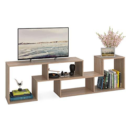 DEVAISE Versatile Legno unit TV/scaffale/mensola; Spessore 15mm, in Legno di Quercia