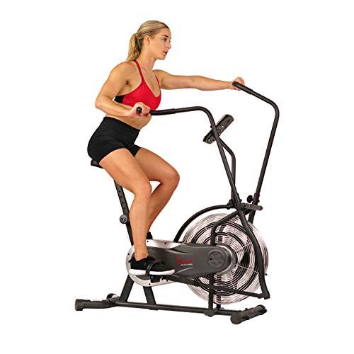 Sunny Health & Fitness Zephyr Air Bike,...