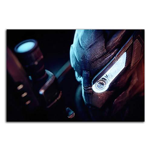 Trelemek Mass Effect Legendary Edition Leinwanddrucke, 61 x 40,6 cm, Videospiel-Poster, Kunstposter für Wohnzimmer, Schlafzimmer, Kunst, ungerahmt