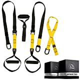 Home Suspension Training Kit – Suspension Trainers - 2 Adjustable Suspension Straps with Handles,...