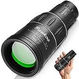 Pankoo 16X52 Monocular Telescope, High Power Prism Compact Monoculars for Adults Kids HD Monocular...