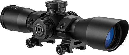 BARSKA AC11876 Contour Rifle Scope 4x32 Red/Green...
