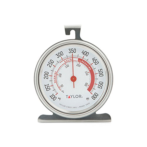 2. Taylor Classic Series Large Dial Oven Thermometer