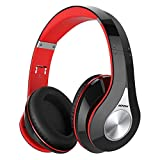 Mpow 059 Bluetooth Headphones Over Ear, Hi-Fi Stereo Wireless Headset, Foldable, Soft Memory-Protein Earmuffs, w/Built-in Mic Wired Mode, for   Online Class, Home Office, PC/Cell Phones/TV