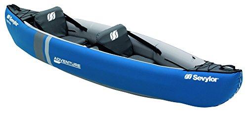 Sevylor Kayak Gonflable Adventure, Canoë Canadien 2 Places,...